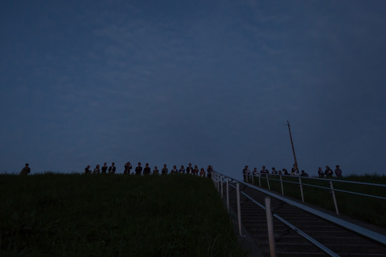 F/T17 まちなかパフォーマンスシリーズ 中野成樹+フランケンズ『半七半八(はんしちきどり)』 Photo:Kazuyuki Matsumoto