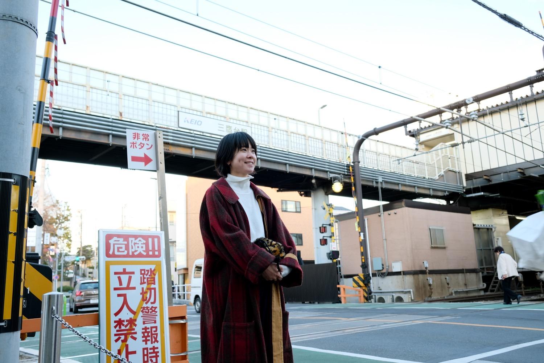 井の頭線「三鷹台」駅に到着。