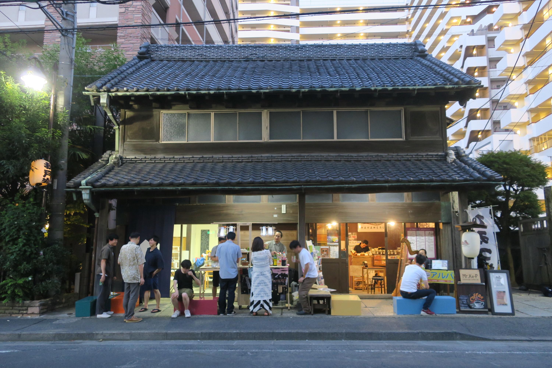 築100年強の古民家をアーティストやクリエイターのスタジオとして活用。(旧・原田米店)