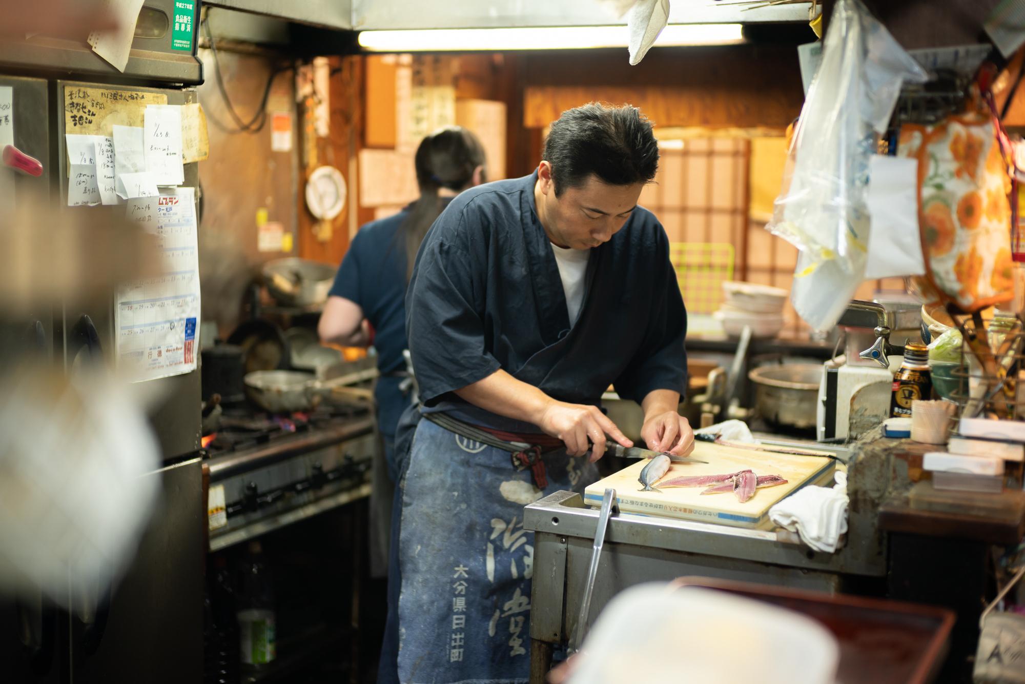 先代から店を継ぎ3代目となった兄・日吉大さん