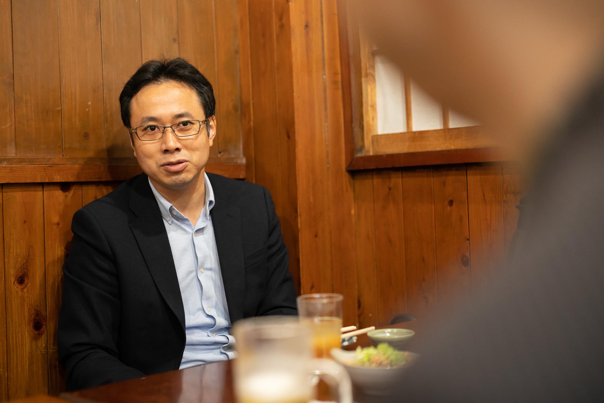 1839年創業、葛西屋商店の7代目となる中山晃一さん。