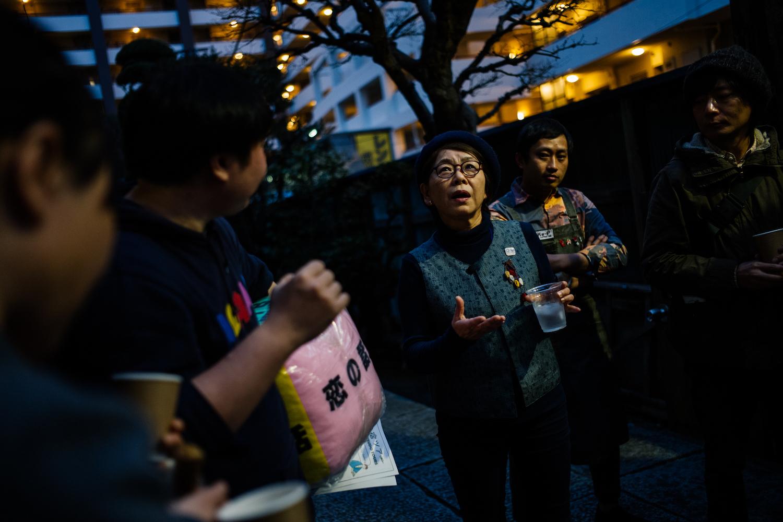 女性の参加者は留美子さんの年齢を聞いてびっくり! 思わず「若さを保つ秘訣は?」なんて質問も飛び交った。