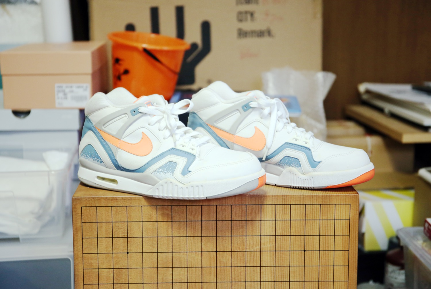 "AIR TECH CHALLENGE 2 ""BLUE CLAY""(NIKE)"