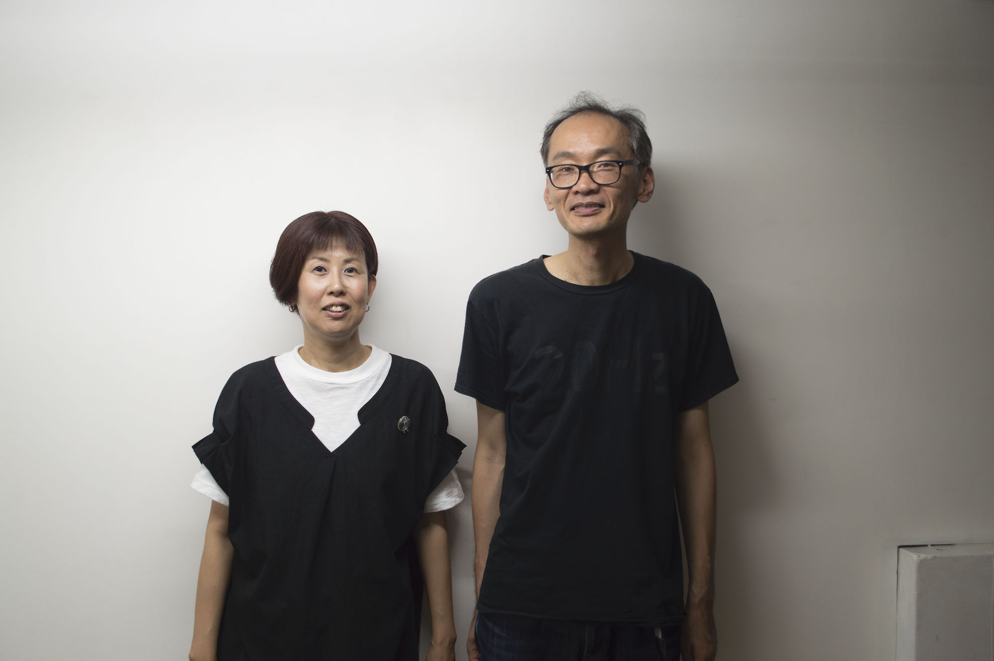 左より畔柳佐季子氏 畔柳寿宏氏
